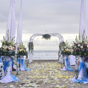 Beach Sandy Wedding 7